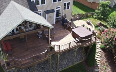 Supporting your Deck Hot Tub