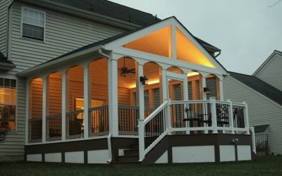 Enhanced Outdoor Living with LV Lighting