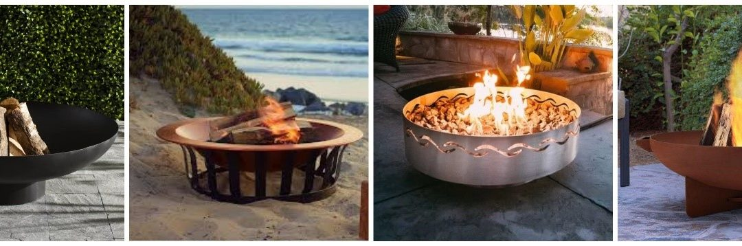 Wood-Burning Firepits Bowls