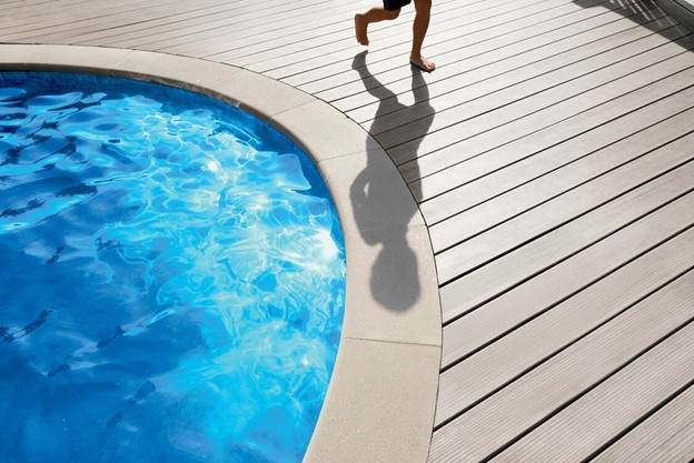 Capped Composite Decking – The New Pool and Hot Tub Surround