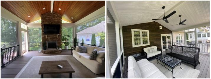 Composite deck material options